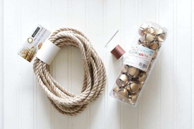 Jingle Bell Garland Supplies - Magnolia Home Inspired, Fixer-Upper Style