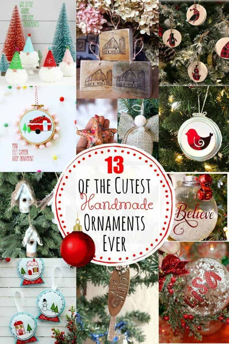 13 of the cutest handmade christmas ornaments ever the how to home handmade christmas ornaments ever save mini solutioingenieria Image collections