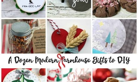 12 Modern Farmhouse Gifts to DIY