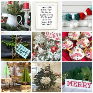 12 Beautiful Modern Farmhouse Details for Christmas