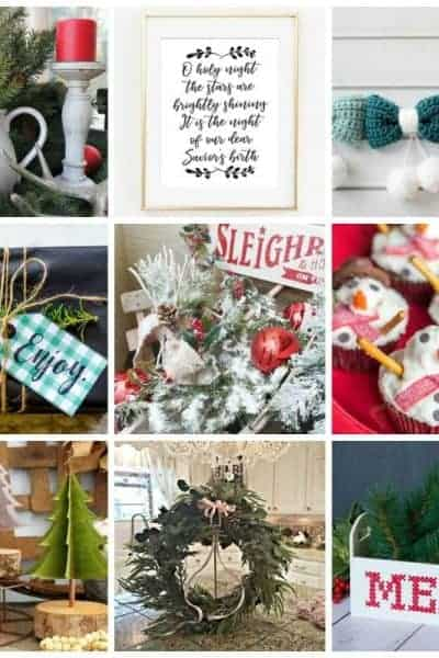 12 Beautiful Modern Farmhouse Details for Christmas