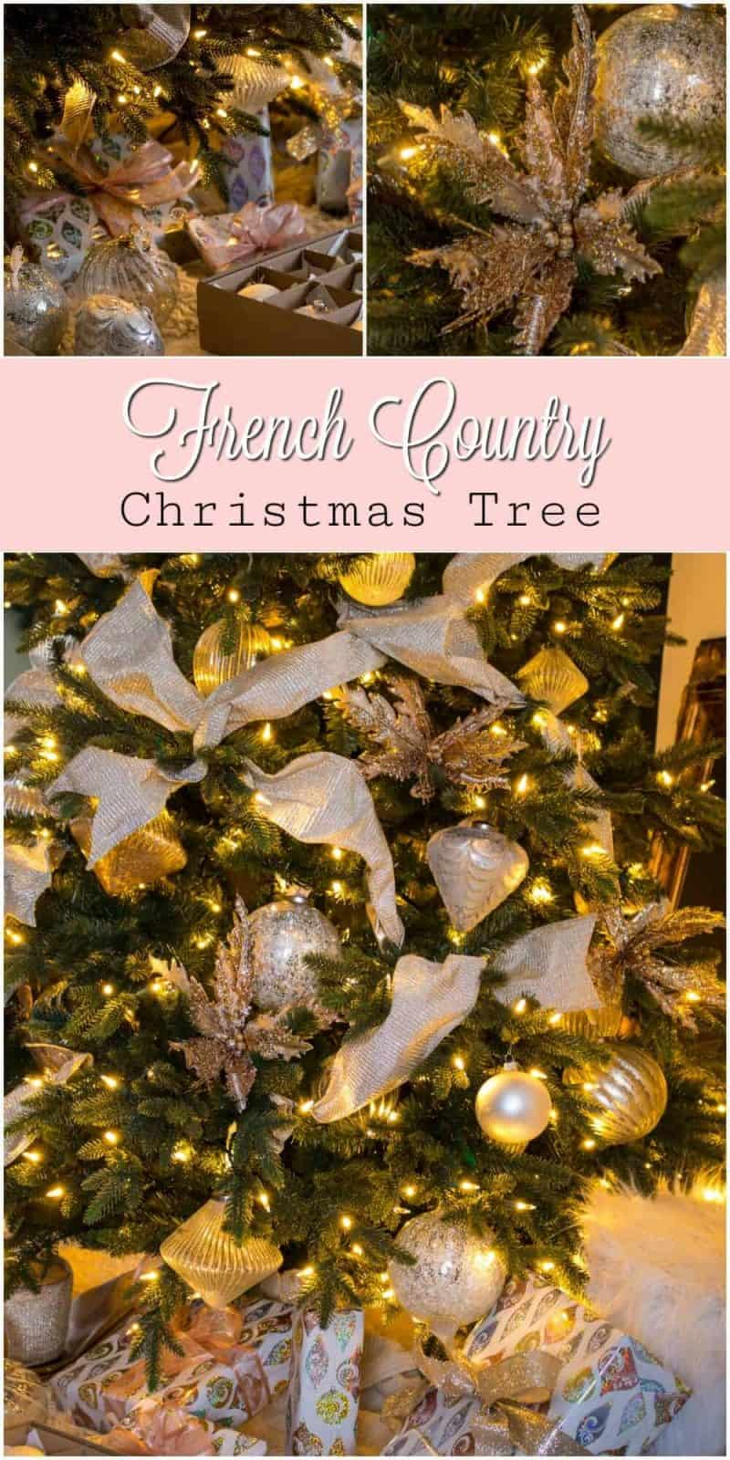 Country Christmas Tree.How To Decorate A French Country Christmas Tree The How To