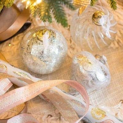 How to Decorate a French Country Christmas Tree