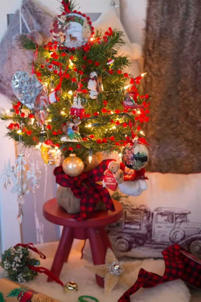 How to Fill a Christmas Tree with your Mom Memories