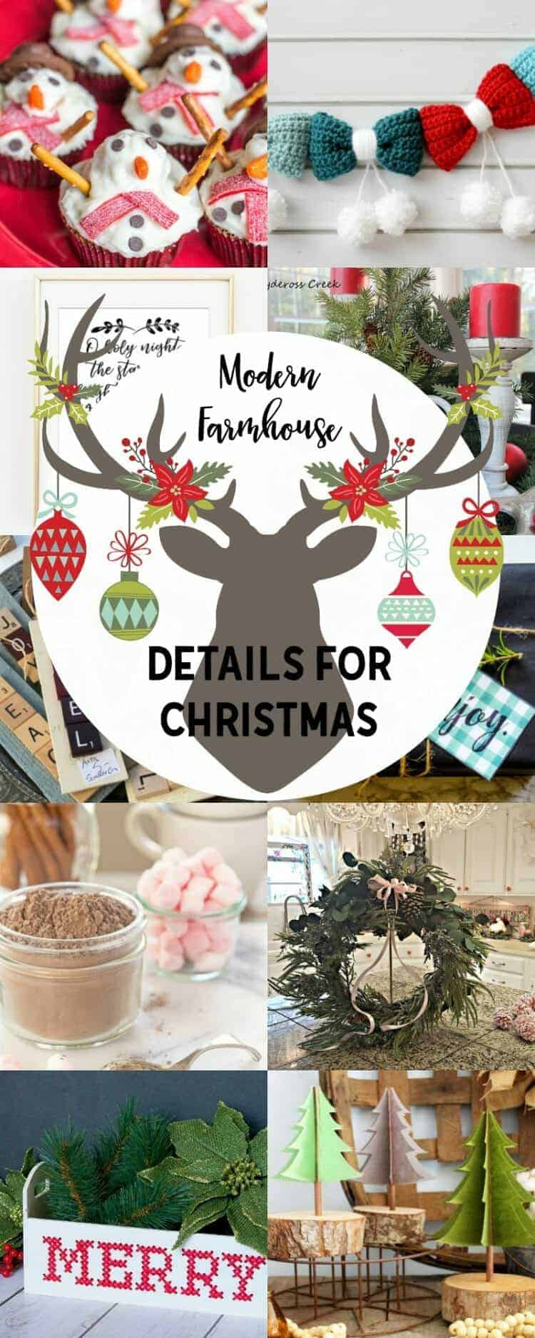 Farmhouse Details for Christmas