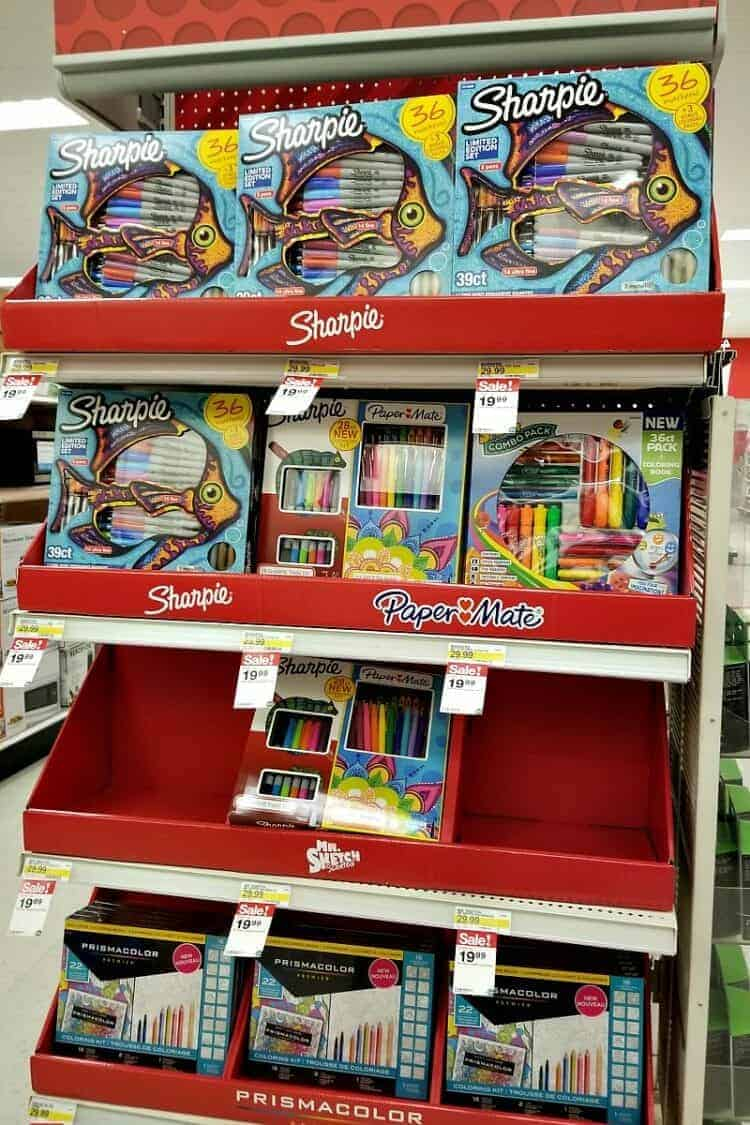 Sharpie Markers in store - Target