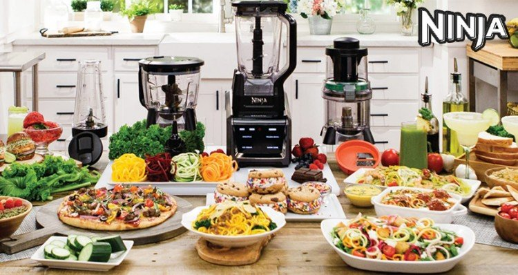 Enter to win one of 25 Ninja Intelli-Sense Kitchen System Auto-Spiralizers!