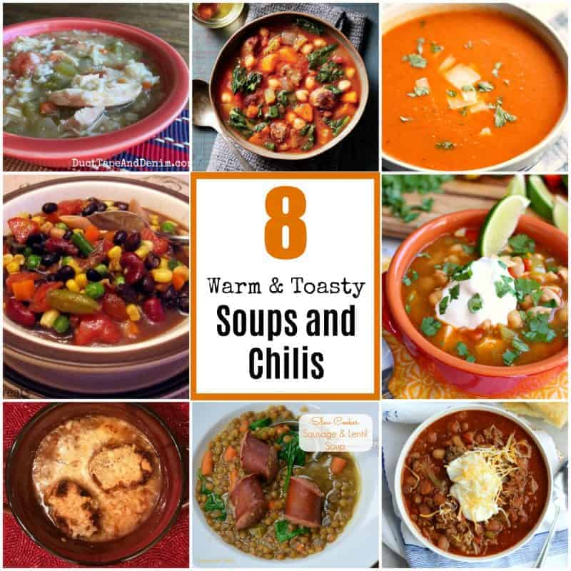 8 Warm and Toasty Soups and Chilis to Cozy Up to this winter