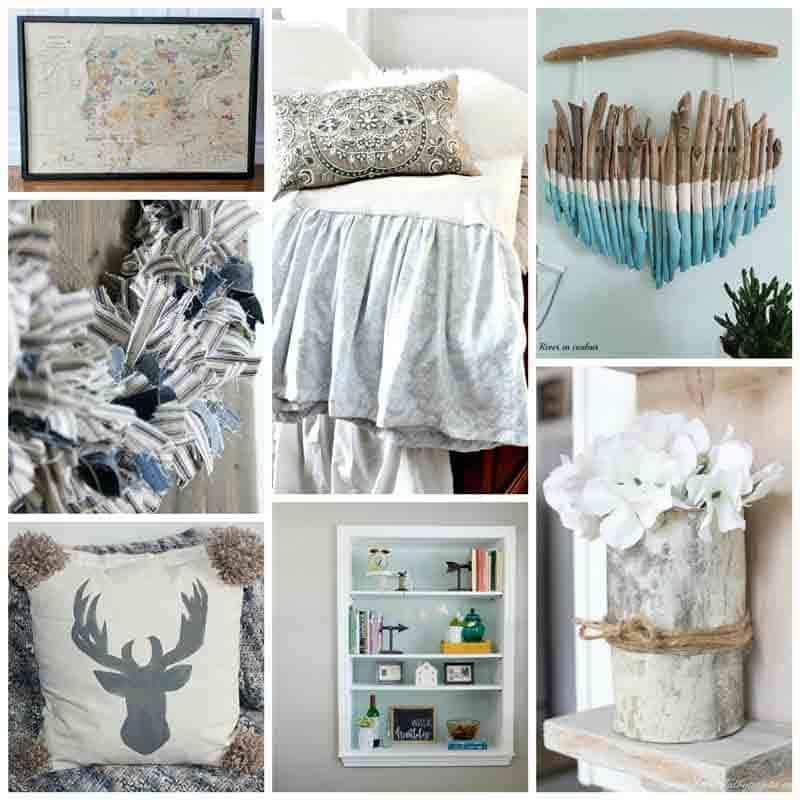 Photos of 7 modern farmhouse diy projects