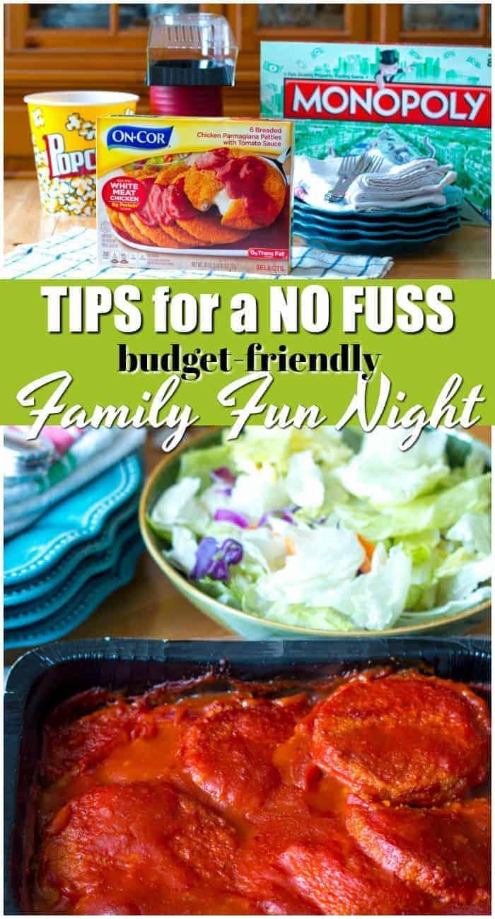 Simple tips for a no fuss, budget-friendly, family fun night #ad #CountOnCor