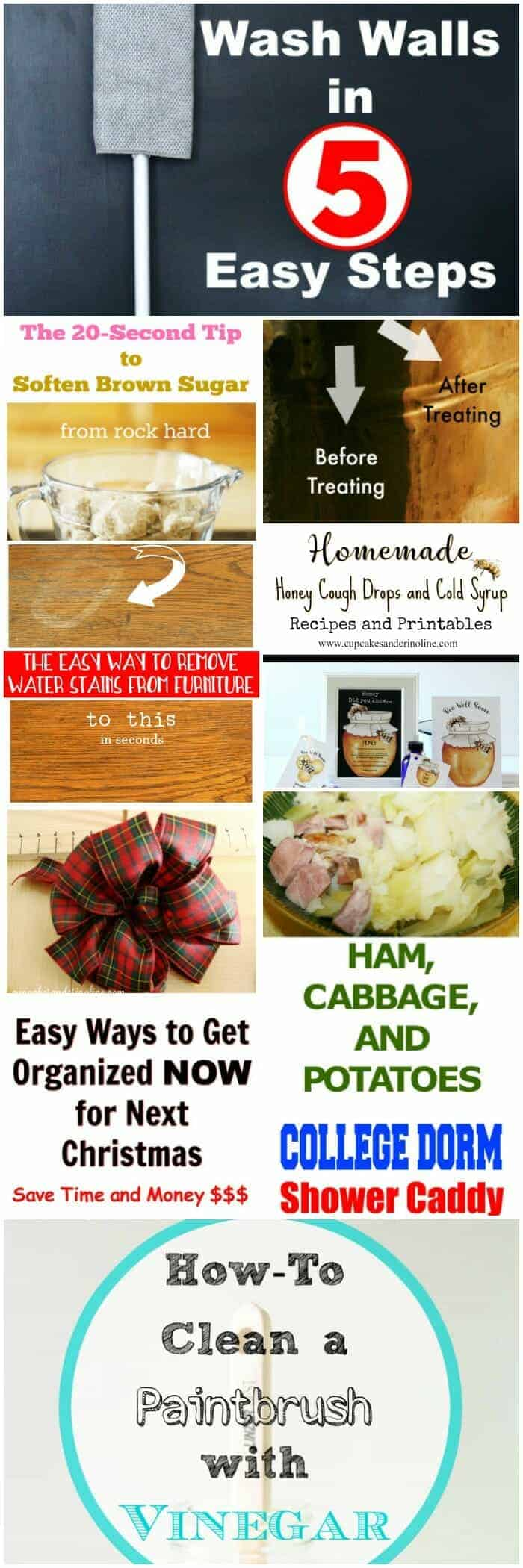Top 10 Posts of 2017 from Home with Cupcakes and Crinoline