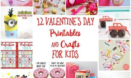 12 Valentine's Day Printables and Crafts for Kids