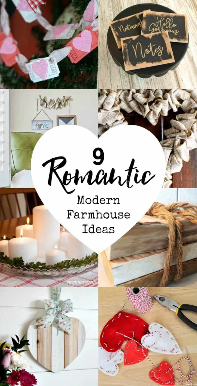 9 Romantic Modern Farmhouse Ideas