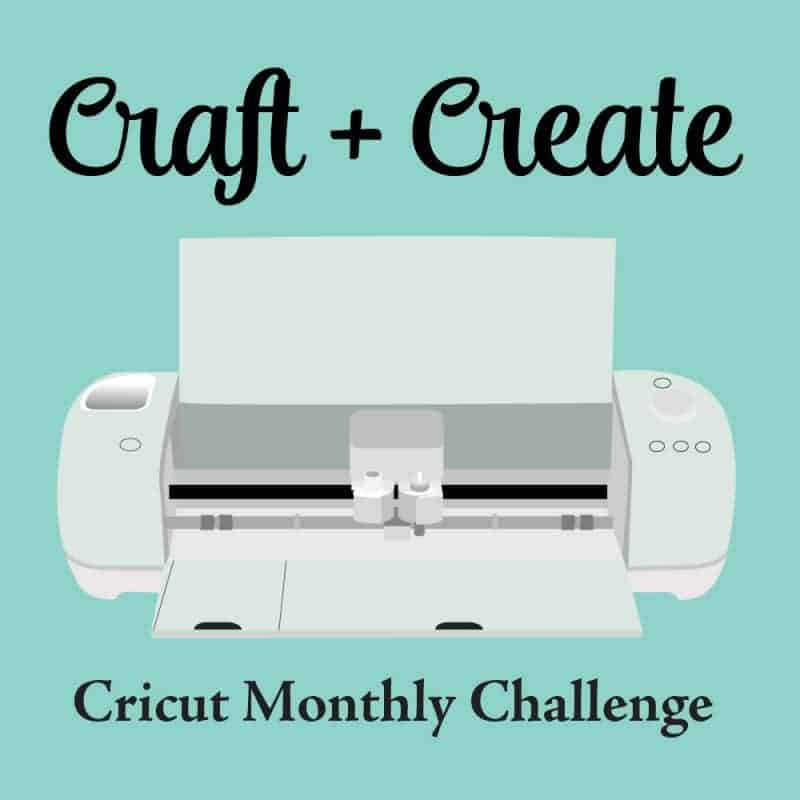 Cricut Monthly Challenge Graphic
