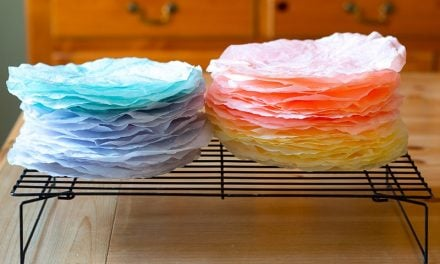 How-To Easily Dye Coffee Filters with Food Coloring