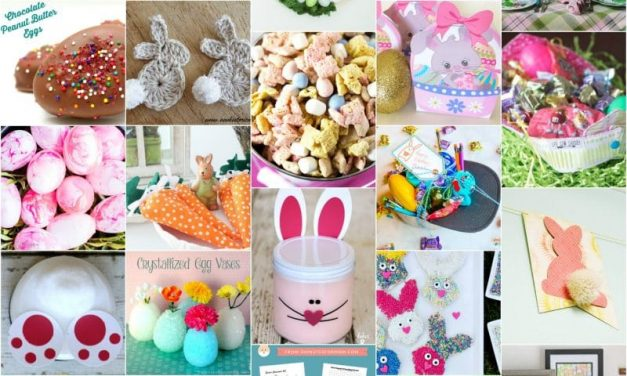 Mega Roundup of Easter Crafts, Treats, Decor, and Printables