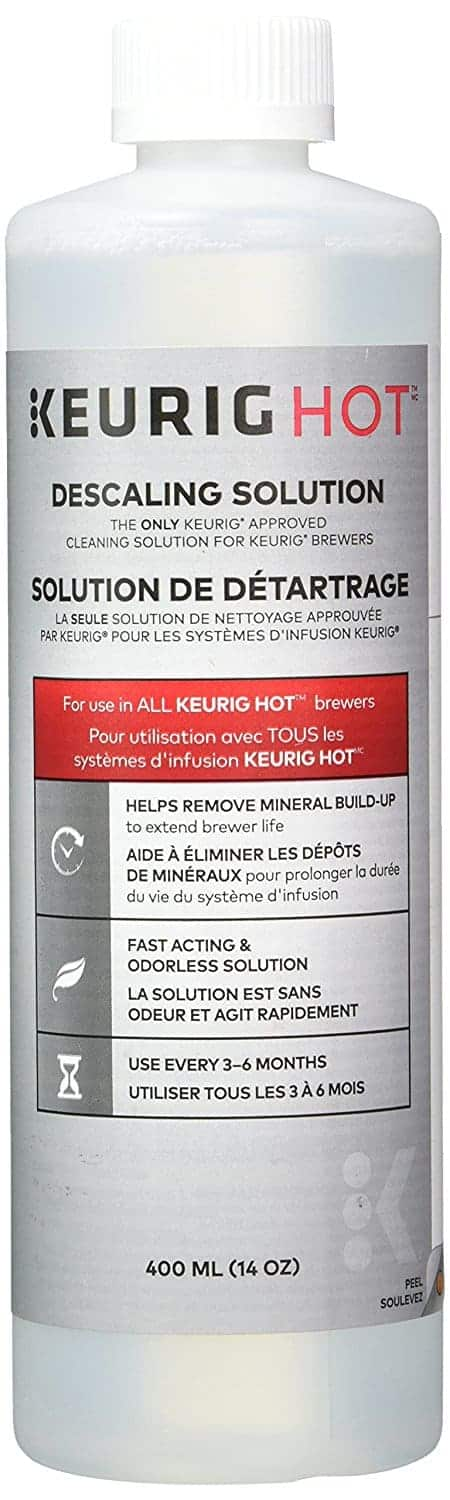 Photograph of Keurig Descaling Solution