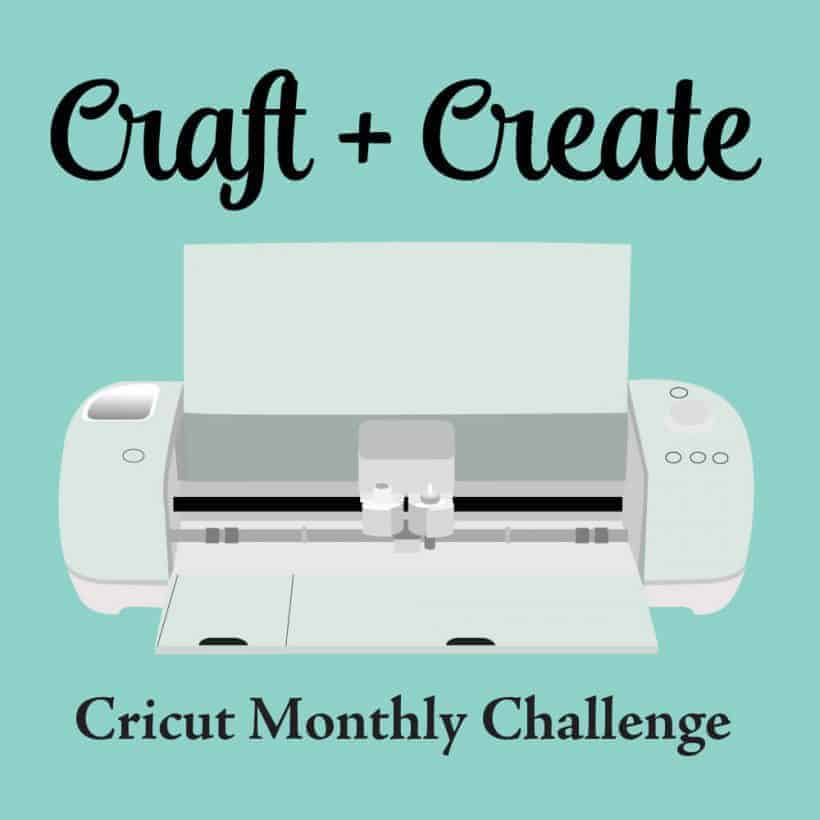Monthly logo for Craft + Create Cricut Monthly Challenge