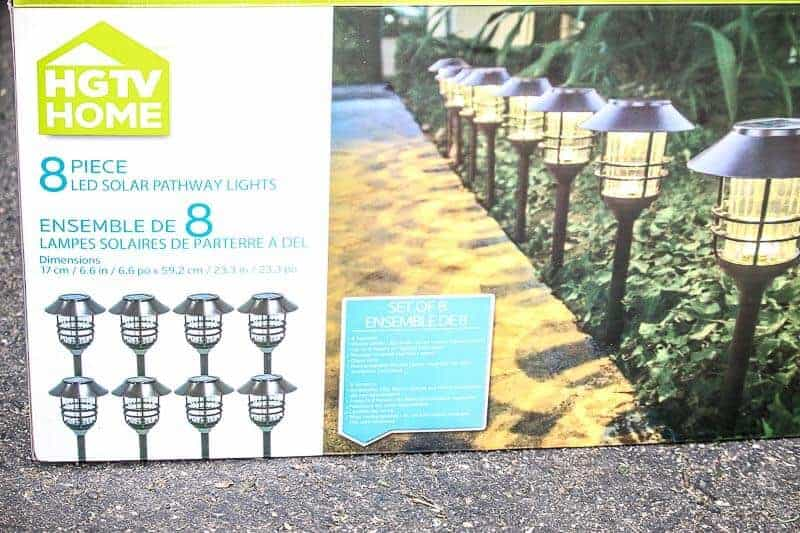 HGTV Home LED Solar Pathway Lights