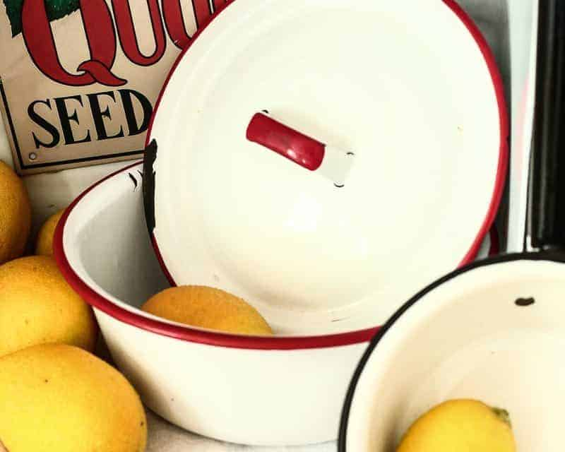 Enamelware Decorating Ideas