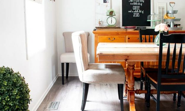 DIY Farmhouse Plank Flooring