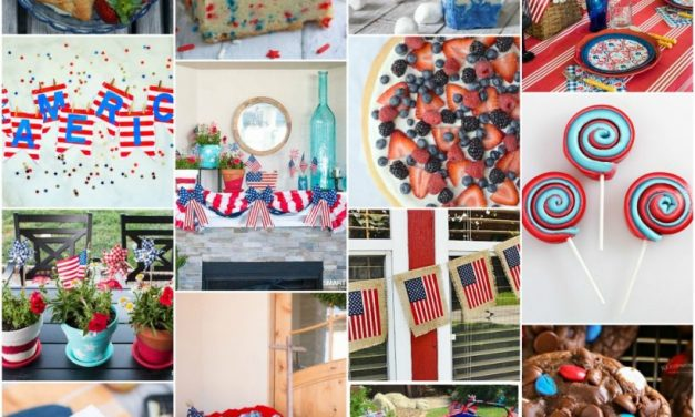 Patriotic Recipes and Patriotic Decor Roundup