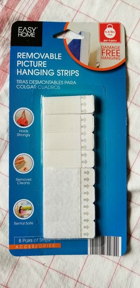 Aldi version of command strips for only $2.99