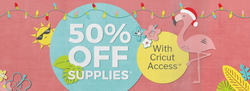 Cricut Christmas in July Sale - Save 50% Off | The How-To Home