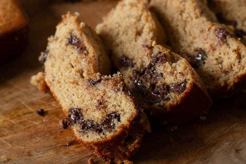 Protein Banana Bread and Cacao Chip Recipe