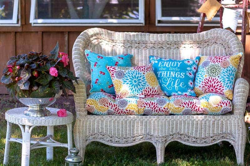 Thrifty Backyard Decor