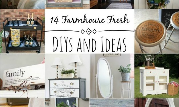 14 Farmhouse Fresh DIYs and Ideas