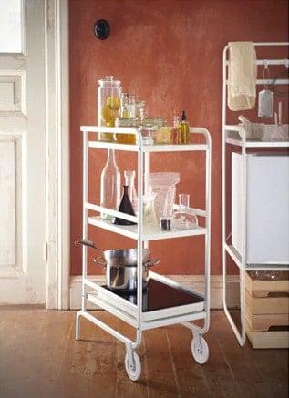 kitchen cart, bar cart, from Ikea