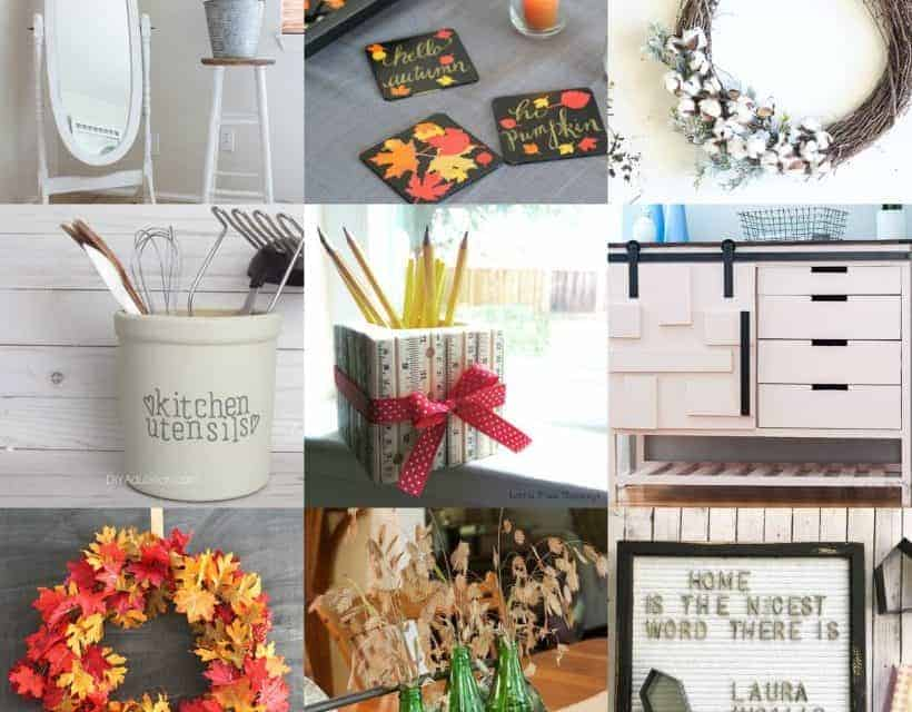 11 Fun Fall Fixer Upper Style Projects