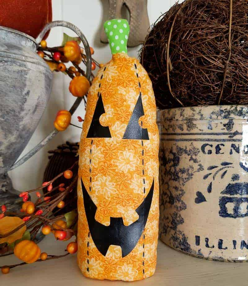 How-To Make a Stuffed Fabric Pumpkin