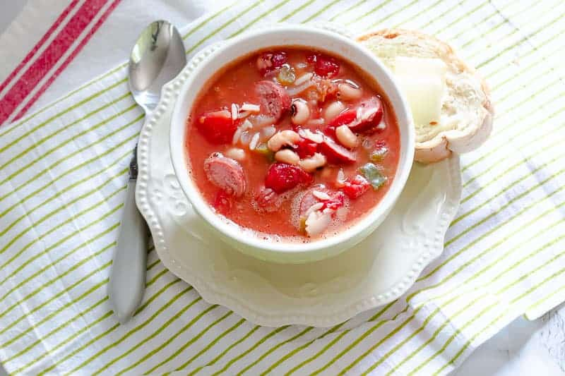 How-to-Make Sausage and Bean Soup – Perfect for Football and Homegating