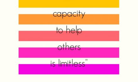 Our Capacity to Help Others is Limitless