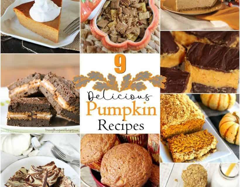 9 Delicious Holiday Pumpkin Recipes