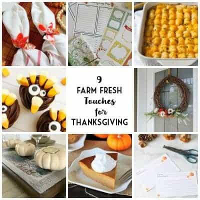 9 Thanksgiving ideas that are farm fresh