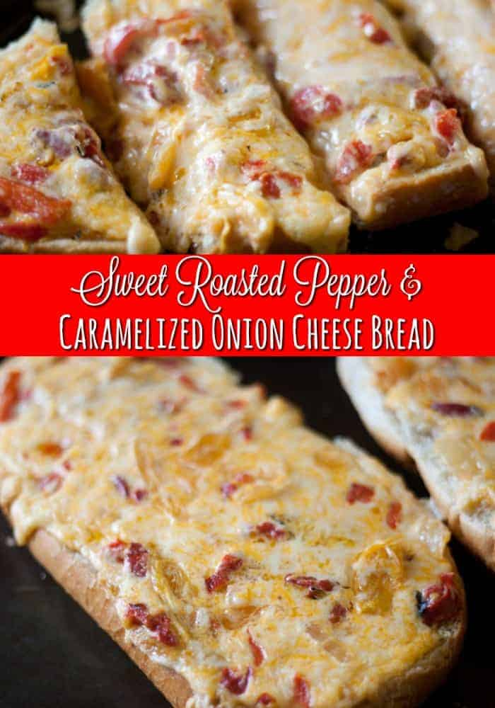 Cheese bread on cookie sheet