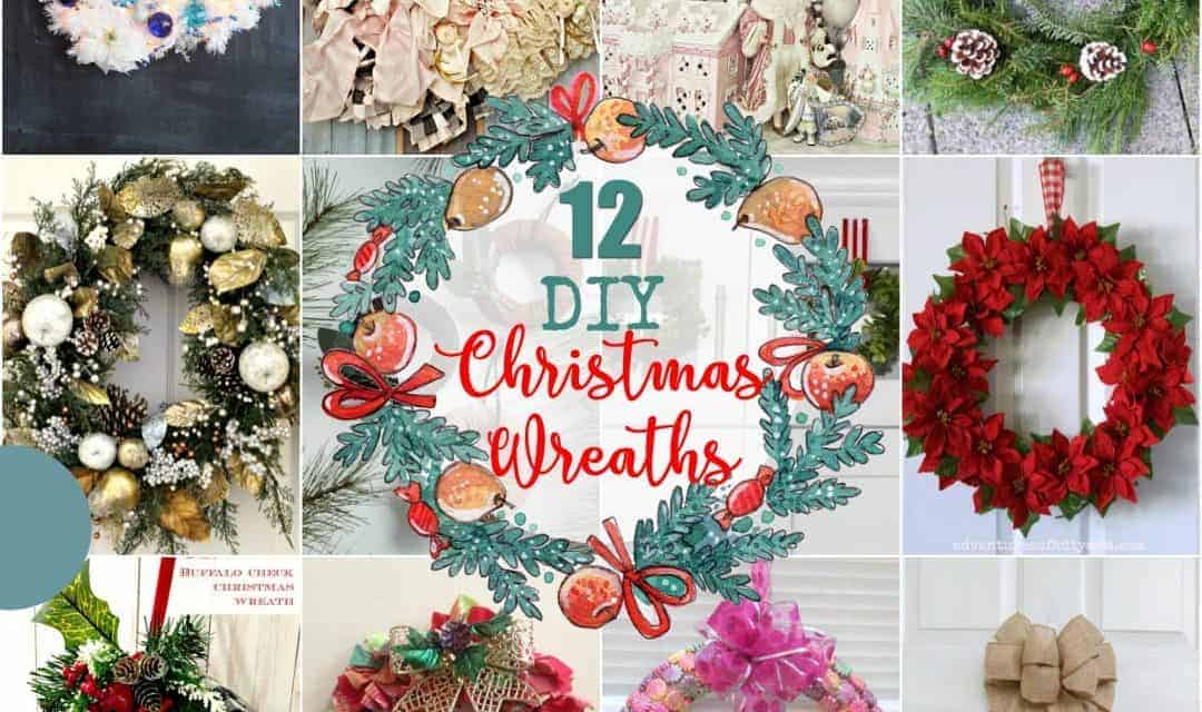 Buffalo Check Christmas Wreath.12 Diy Christmas Wreaths The How To Home