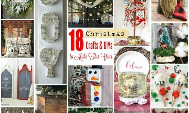 18 Christmas Crafts and DIYs to Make This Year