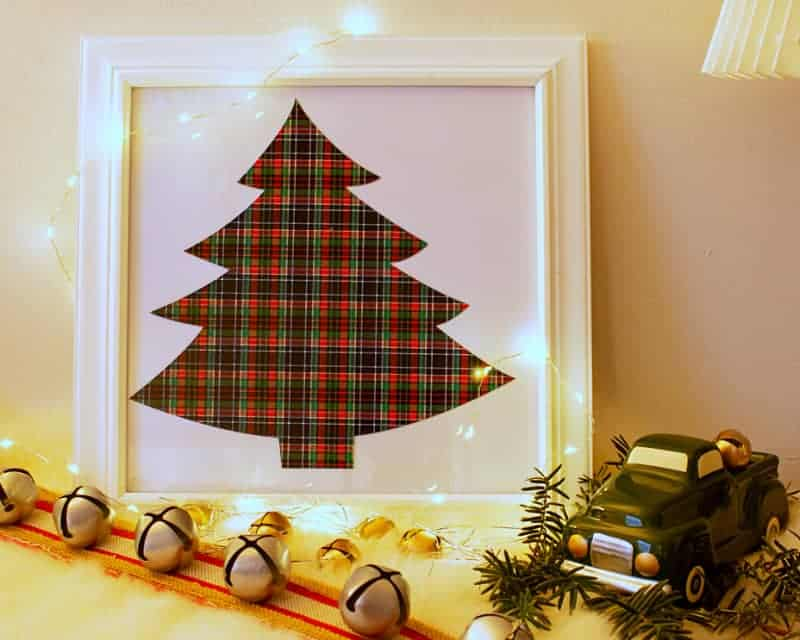 Easy-to-Make Christmas Tree Art