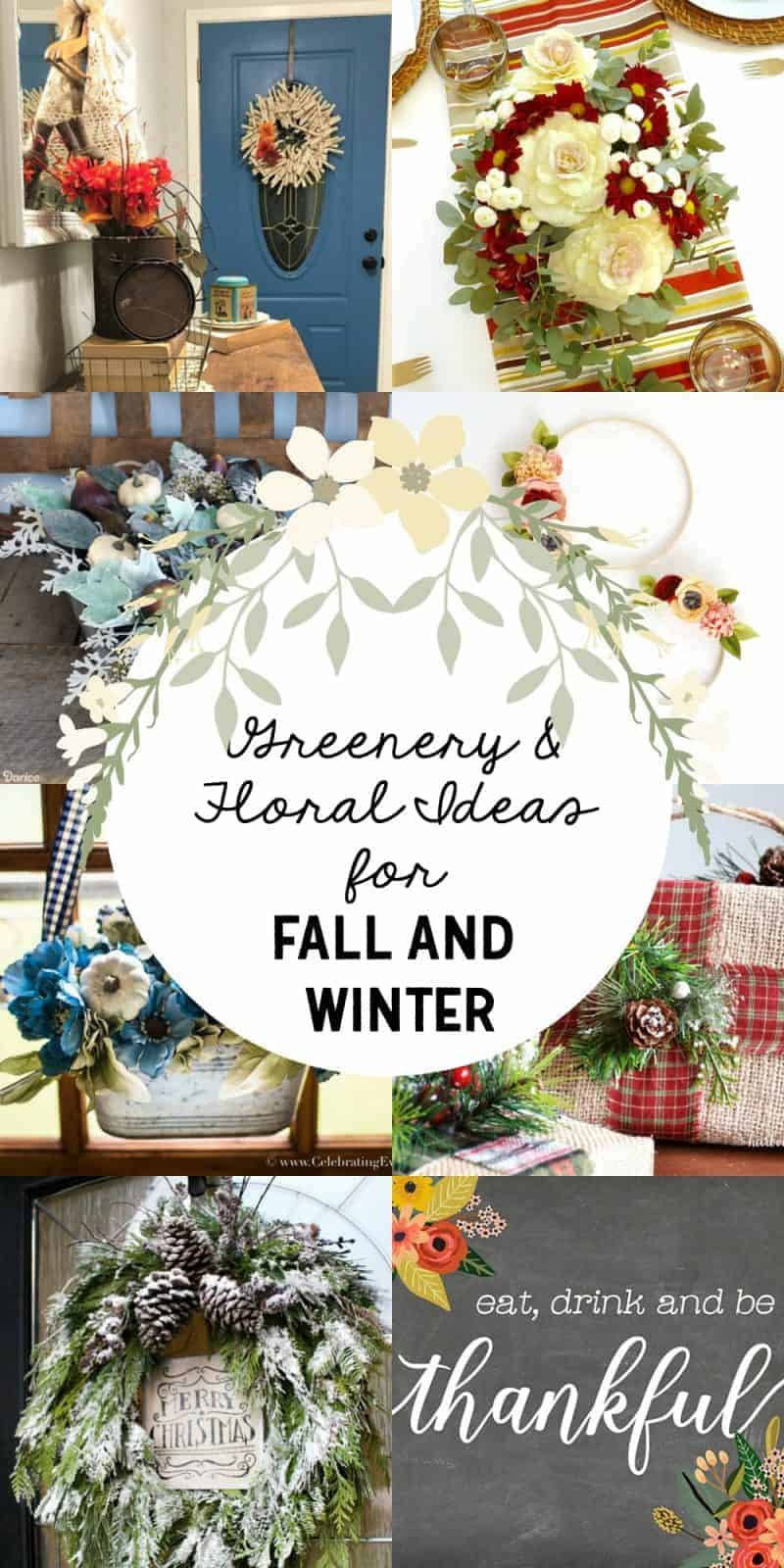 Gorgeous Greenery and Floral Ideas for Winter Decorating | The How ...