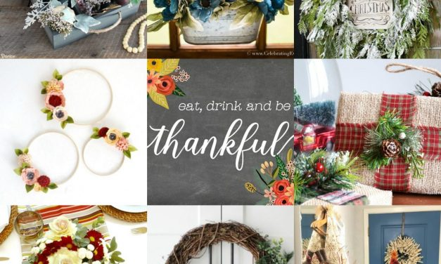 Gorgeous Greenery and Floral Ideas for Winter Decorating