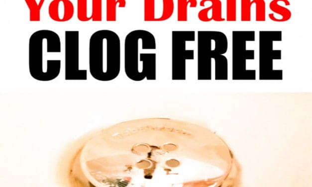 How-To Keep Your Drains Clog Free