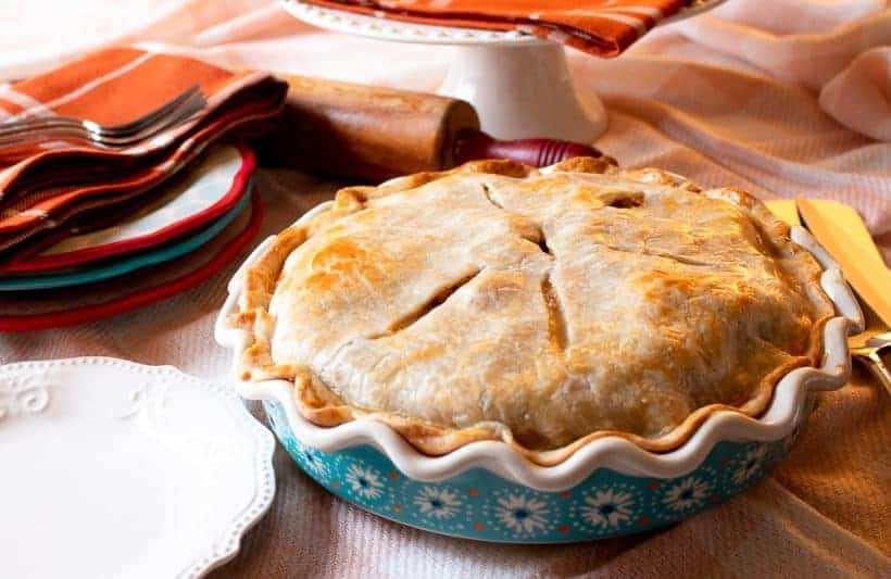 How-To Make a Thanksgiving Leftovers Pie