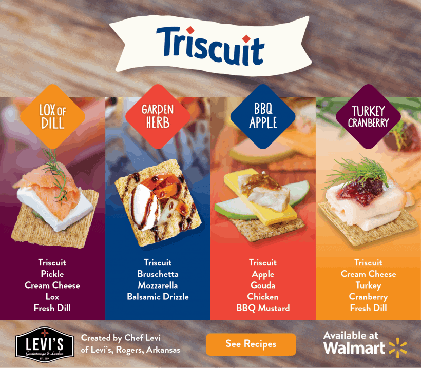 Easy Holiday Appetizers with Triscuit