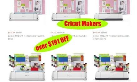 Greats Deals on Cricut Maker and Cricut Maker Bundles