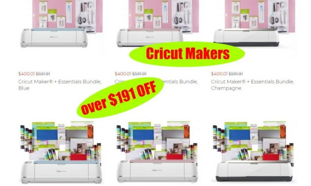 Greats Deals on Cricut Maker and Cricut Maker Bundles