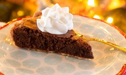 Peppermint Brownie Christmas Pie Recipe